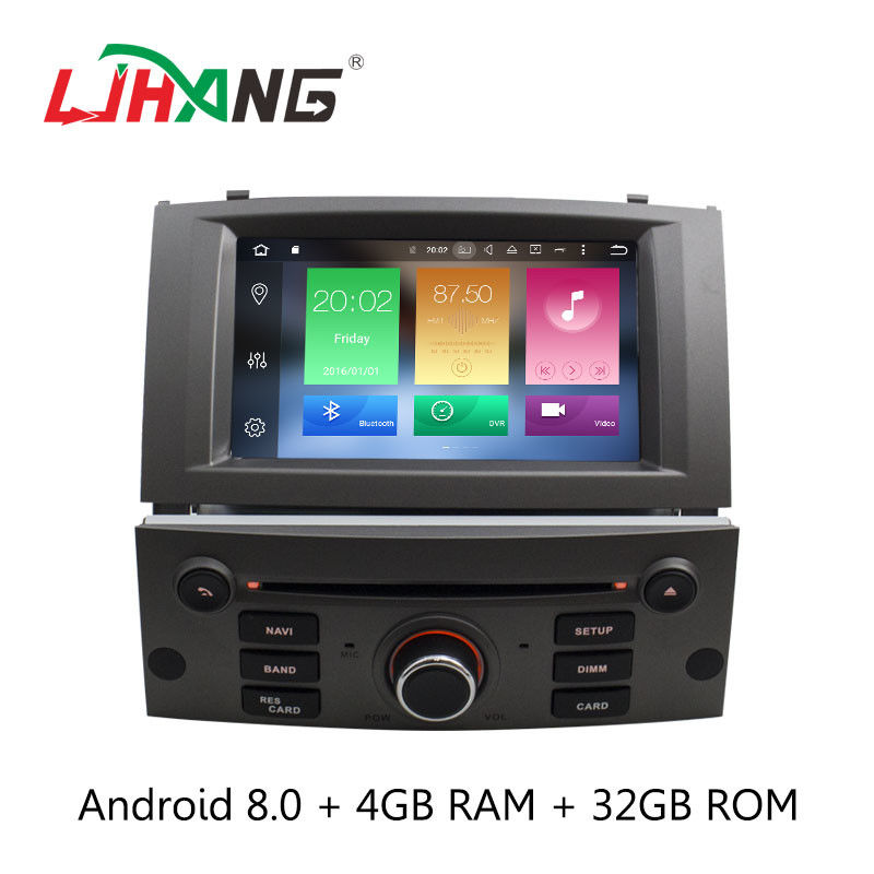 Bluetooth 3G USB Peugeot 5008 Dvd Player , LD8.0-5588 Dvd Player For Android