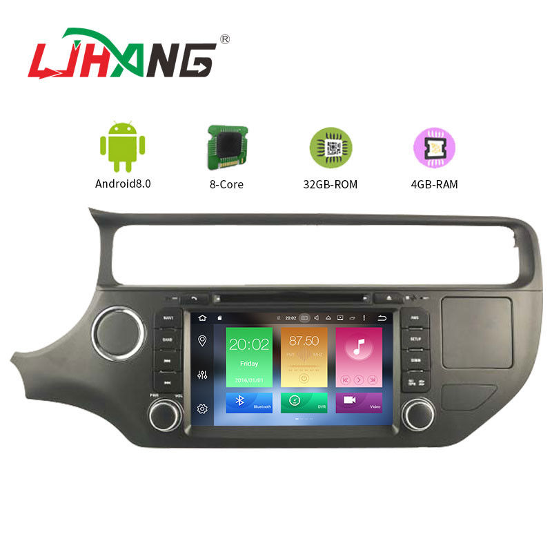 KIA RIO 8.0 Android Car DVD Player With Audio Video 3G 4G SWC